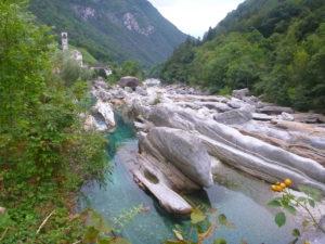 Plongée en rivière