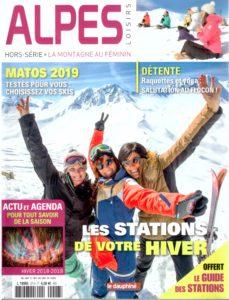 Couverture - Alpes Loisirs - Hors-Série - La montagne au féminin - Hiver 2018-2019