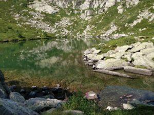 Plongée en lac de montagne à 200m d'altitude