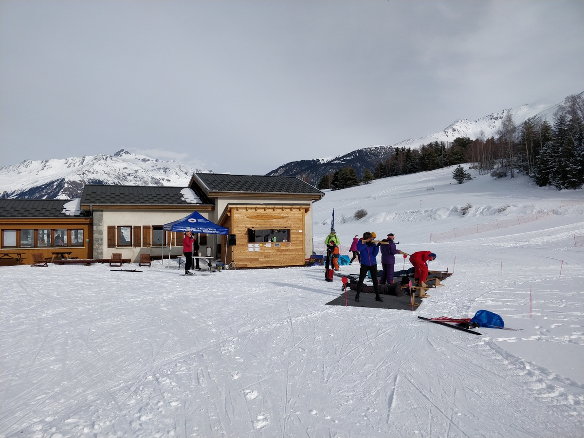 Initiation au Biathlon Sardières