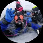 Plongée sous glace - sensations vanoise