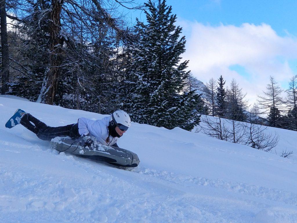 Airboard luge en Savoie