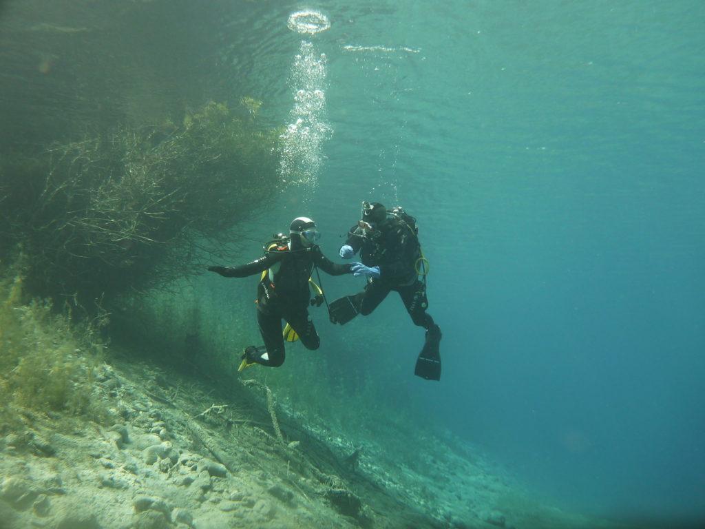 plongee sous marine lac savoie
