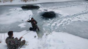 Stage de survie sur le lac gelé - Sensations Vanoise
